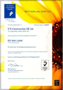 Certificate ISO 9001 Quality Assurance